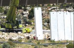 Beit Jala: Israeli Forces Continues to Build the Annexation Wall.