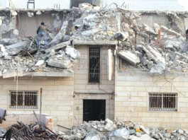 Hebron: Israeli Forces Demolish Two Houses in Yatta Village in Hebron. (AFP)