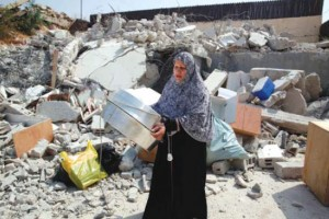 Jerusalem: Israeli Forces Demolish House of Wasim Khaled Atiyah in Sour Baher Village