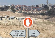 "Jerusalem: Construction works in continue ""Maaleh Adumim"" settlement."