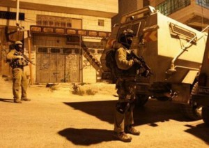 Israeli forces arrested a number of civilians throughout the West Bank