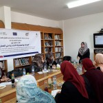 """In cooperation with Amal Coalition, PCHR Organizes Workshop on """"Gender Justice and Equality in Employment"""""""