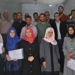 PCHR Concludes Training Course in Human Rights in Khan Yunis with Participation of 11 CBOs