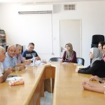 Meetings with the PCHR's Director and Units' Directors