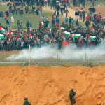 Israeli Forces Directly Target Peaceful Demonstrations in Gaza Strip, Killing 9 Civilians and Wounding 709 Others, including 121 Children and 26 Women, Without Posing Threat to Soldiers' Life