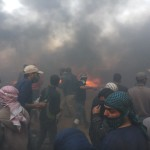 In New Crime of Excessive Use of Lethal Force against Peaceful Demonstrators in Gaza Strip, Israeli Forces Kill 2 Palestinian Civilians; One of Them is Child, and Wounded 45 Others, including 3 Journalists, Female Paramedic and 5 Children