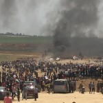 Despite Peaceful Nature of Demonstrations, Israeli Forces Continue to Use Lethal Force, Since Morning, 19 Palestinian civilians, Including 1 girl, 1 boy and 1 Person With Mobility Impairment, Were Killed  while 1000 Others, Including 74 Children, 23 Women, 8 Journalists, and 11 Paramedics, Were Wounded