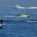 Israeli Naval Forces Arrest 6 Fishermen, detain Fishing boat, and drown another boat in Gaza Sea