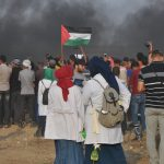 Israeli Forces Continue their Crimes in Eastern Gaza Strip, wounding 75 Civilians, Including 16 Children, Journalist and 2 Paramedics; One of them Female Paramedic Sustained Serious Wounds