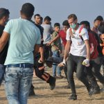 Israeli Forces Continue their Crimes in Gaza Strip and Target Palestinian Civilians Participating in Return and Breaking Siege March Civilian killed and 98 Others Wounded, Including 10 Children and Woman.