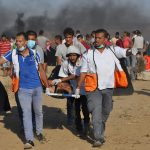 For Twenty-First Friday of Great March of Return and Breaking Siege, East of the Gaza Strip, Israeli Forces killed 2 Civilians and Wounded 144 Others, Including 27 Children, 4 Women and 3 Paramedics