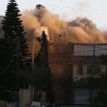 As Part of Applying Collective Punishment Policy against Families of Those Carrying Attacks against Israeli Soldiers or Settlers, Israeli Forces Blow up Building Belonging to Abu Hmeid Family in al-Am'ari Refugee Camp for Third Time Since 1994