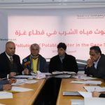 """PCHR Organizes Workshop titled as """"Drinking Water Pollution in the Gaza Strip"""""""