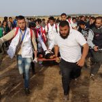 On 56th Friday of Great March of Return and Breaking Siege, Israeli Forces Wound 110 Civilians, including 37 Children, 3 Women, 4 Paramedics, and Journalist