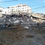 During the Ongoing Israeli Offensive on Gaza Strip: Israel Targets Press Offices and Cultural Institutions